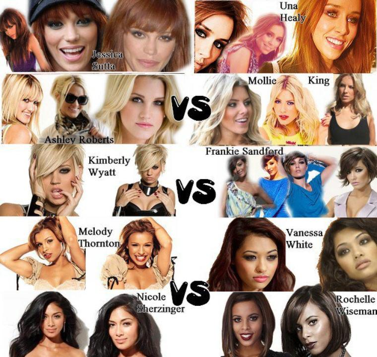 The Saturdays Vs The Pussycat Dolls