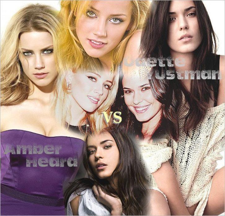 La sulfureuse brune Odette Yustman ou la pulpeuse Amber Heard ?