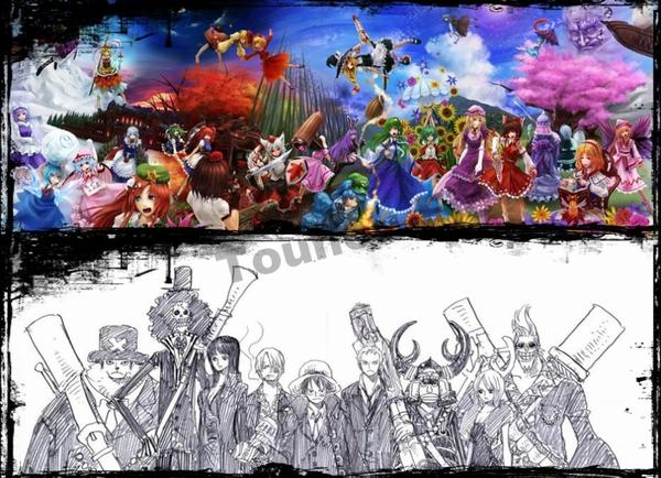 One Piece + Touhou Project = Les mugiwara dans l'univers de Gensokyo ! ♥