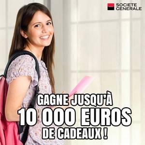 10.000¤ de cadeaux à gagner avec Société Générale !