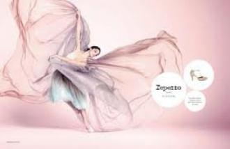 Dorothée Gilbert pour Repetto