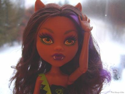 Marraine Pour : Clawdeen