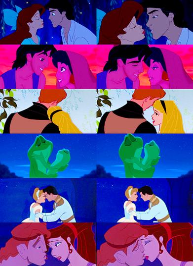 Quel est le plus beau baiser de Walt Disney ?
