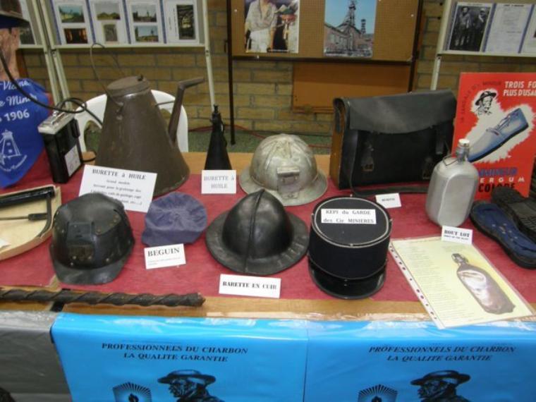 Mon passage à l'exposition sur la mine à la Chapelle d'Armentière le 05 novembre 2011.