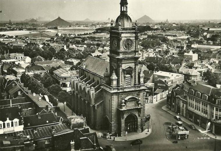 L'église Saint léger de Lens.