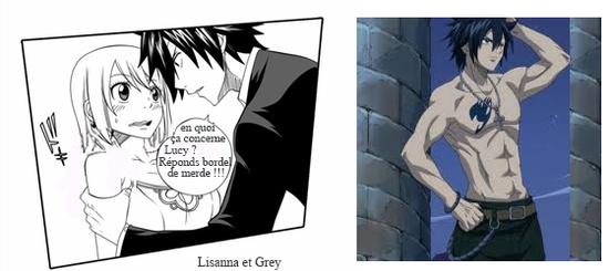 Chapitre 5 : Grey apprend le retour de Lucy