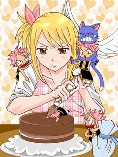 Minis Natsu et Minis Lucy