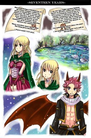 Princesse Lucy et Prince dragon Natsu 2