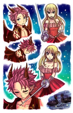 Princesse Lucy et Prince dragon Natsu 3