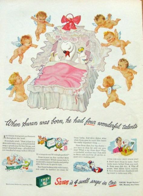 Babie's soap SWAN .....