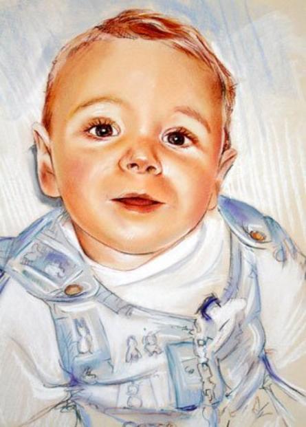 Artiste ....... portrait d'enfants ......