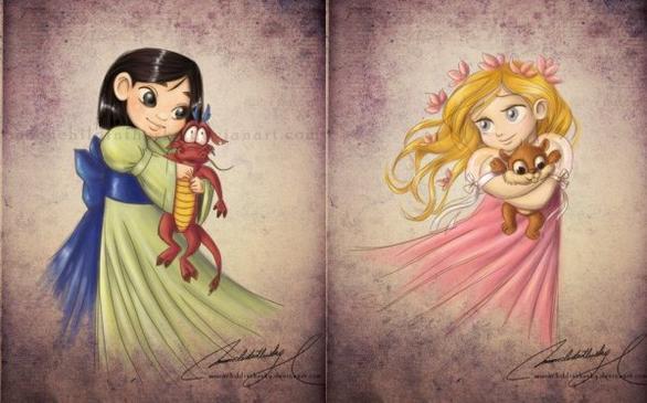 L'art et les princesses ...........