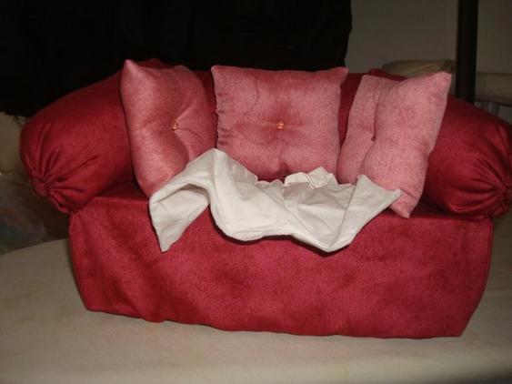 """Canapé """" Kleenex """" ..... suite ...."""