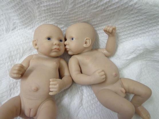 Mini Jumeaux sexués de 27cm