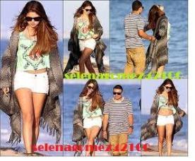 Selena Gomez à l'anniversaire de ashley tisdale le 2 Juillet 2012 .