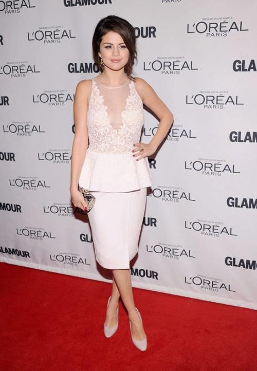 Selena Gomez mujer del año Glamour