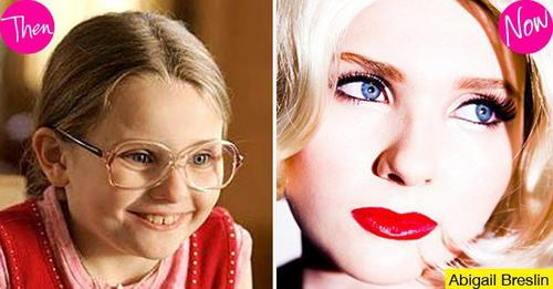 Abigail Breslin: ahora y antes