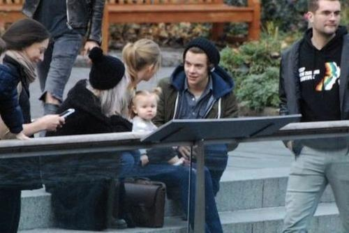 Taylor Swift y Harry Styles cita en Central Park