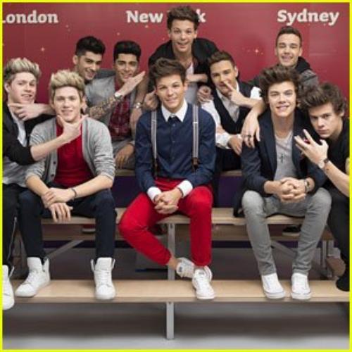¡One Direction ya tiene su figura de cera!