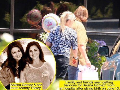 ¡Selena Gomez tiene una nueva hermanita!