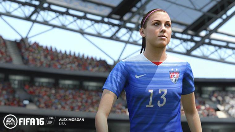 FIFA 16 : Les équipes nationales féminines dans le jeu