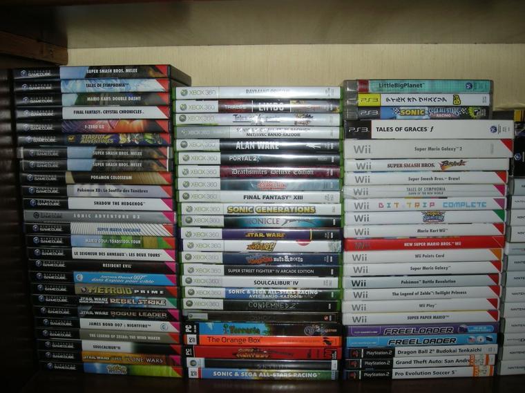 Liste de mes jeux