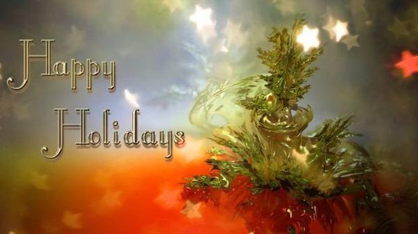 Bonnes vacances à ceux et celles qui ont la chance d'y être