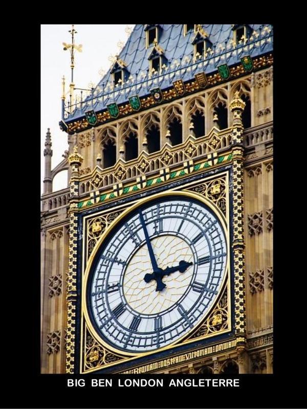Quelques horloges à travers le monde
