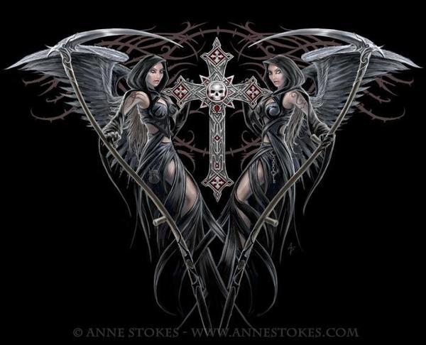 Anne Stokes : artiste
