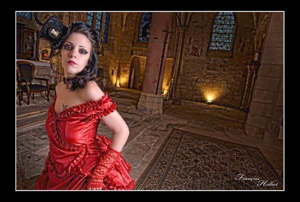 Lady Anna J. : modèle goth