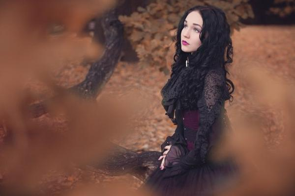 Lady Ophélia : modèle goth