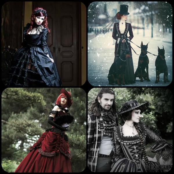 Ladys et dandys gothiques