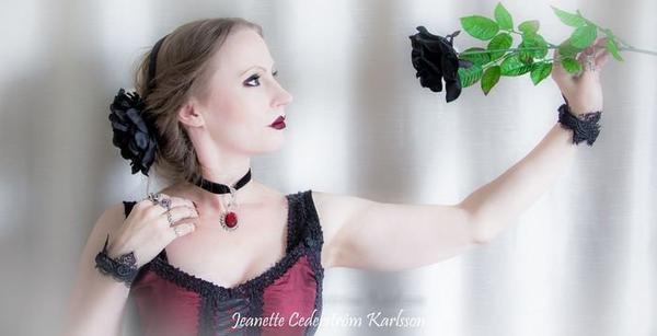 Jeanette Cederström Karlsson : modèle goth