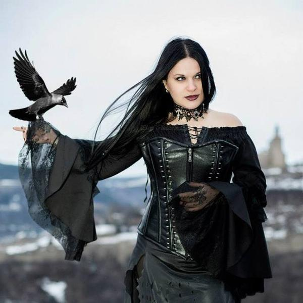 Plam Chelavrova : modèle goth