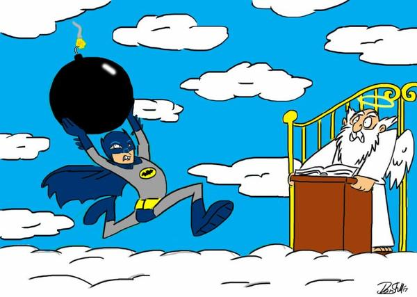 Adam West,l'inoubliable Batman des sixties est mort