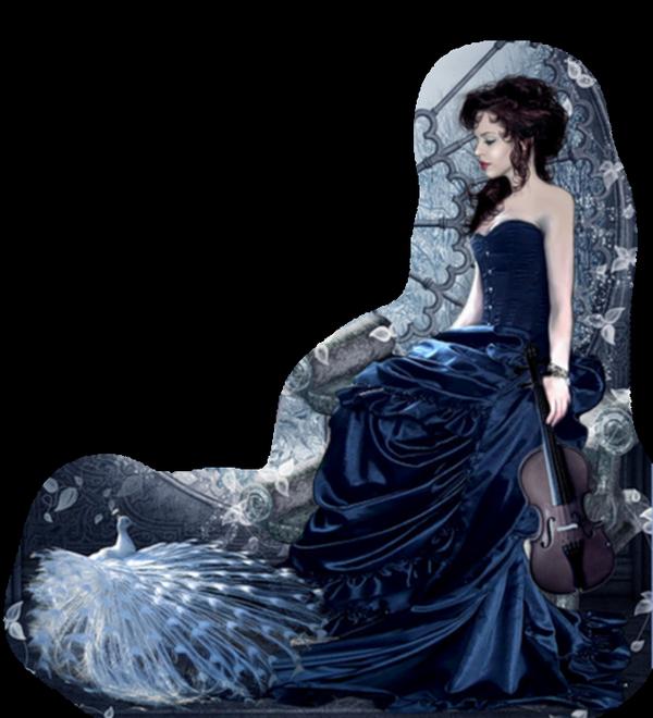 Blue goth