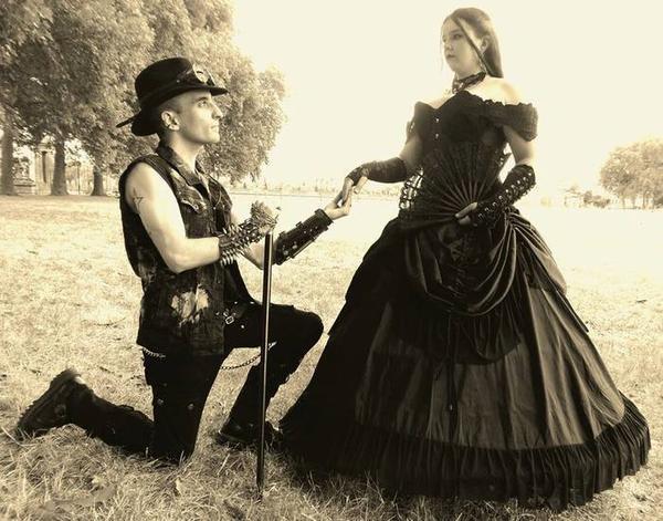 Couples gothiques