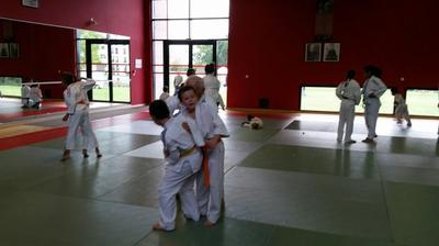 Fête du sport : démo judo !