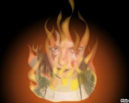 Laisse moi ( brûler ...)