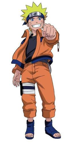 """Présentation de """"Naruto Uzumaki""""."""
