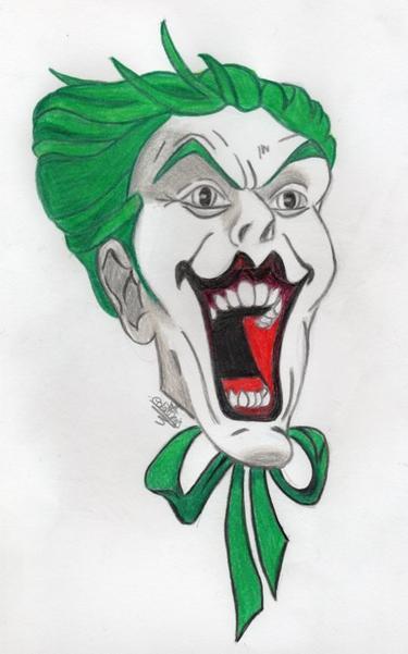 I kill people when it's funny.  The Joker.