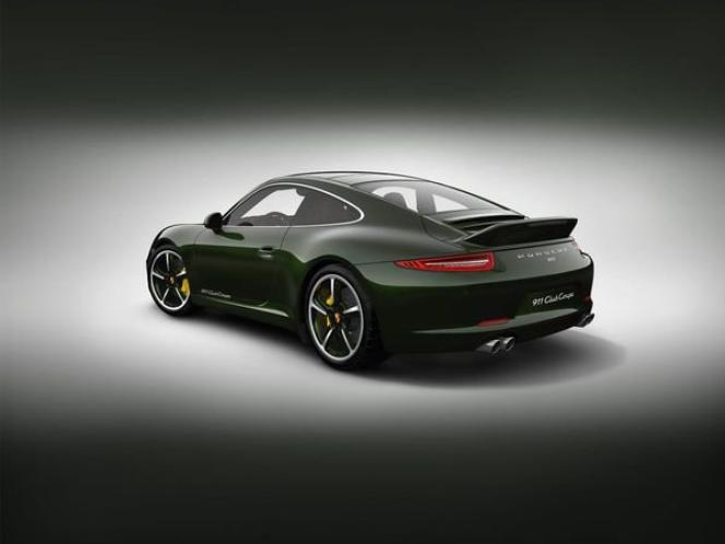Porsche 991 Club coupé, un aileron en queue de canard !!