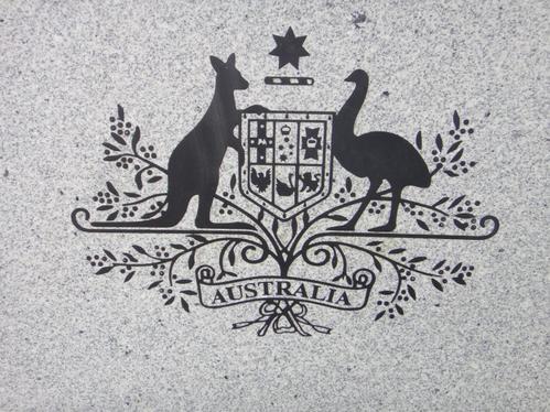 l'emblème australien
