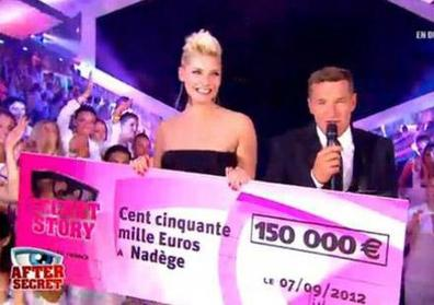 Nadège remporte Secret Story 6 !