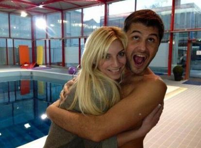 Petit souvenir de Splash! : Nadège et Christophe Beaugrand!