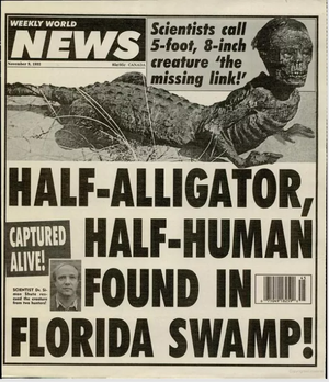 Floride : la légende de l'Homme-Alligator
