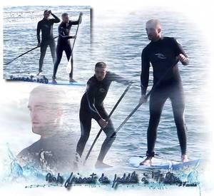 Photos : Rob fait du paddle à Malibu... Aperçu dans les rues de Los Angeles - Lumiéres sur les prochains tournages à venir! Robsten s'affiche dans les rues et on aime cela..