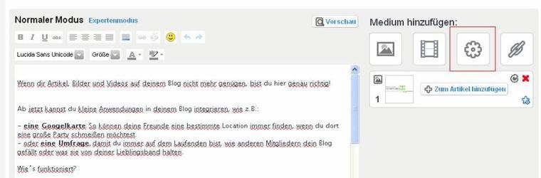 WIDGET: Pimp dein Blog mit Widgets auf!