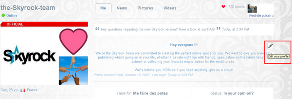 New ! Decorate your profile