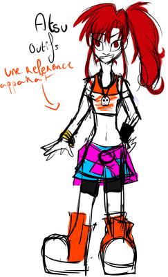 Atsu ► Alternatives outfits